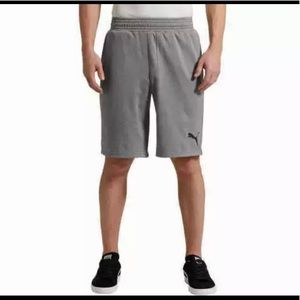 PUMA Men's Energy Active Shorts Gray Large 10""